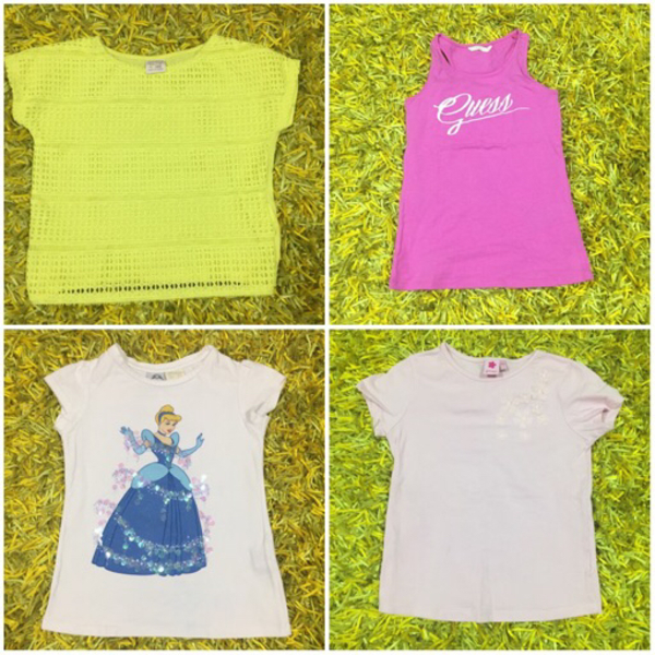 Used GUESS (1) ZARA (2) JUNIORS (1) - 6-7yo in Dubai, UAE