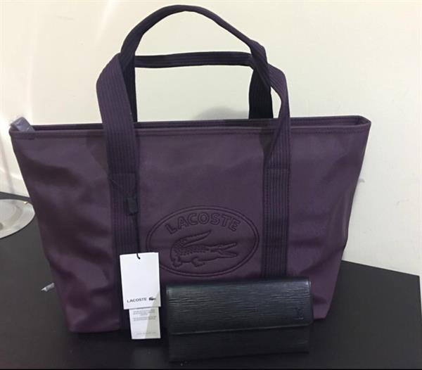 96a0016886 Used authentic lacoste shopper classic bag in 3 different color if meet up  i can give