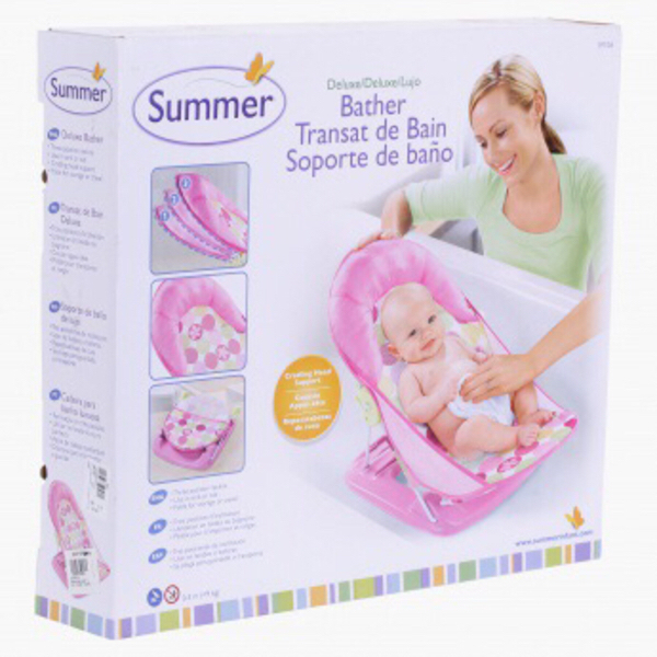 Used Pink Baby Bather in Dubai, UAE