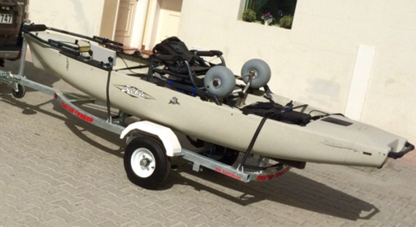 Used Hobie Kayak Pro Angler 12 in Dubai, UAE