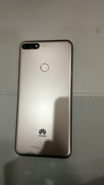 Used Huawei y 7 With headphone Charger Box in Dubai, UAE