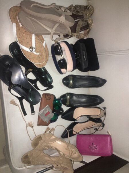 Used Branded shoes and Sandals Bundle in Dubai, UAE