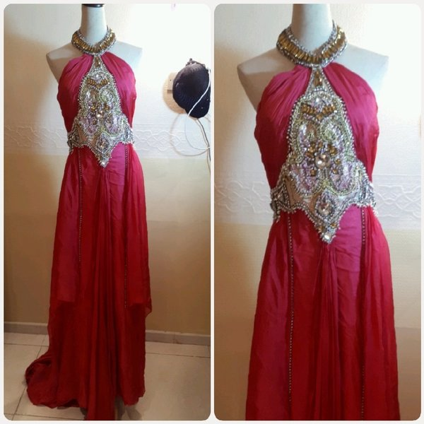 Used Fuzia evening long dress..unique elegant in Dubai, UAE