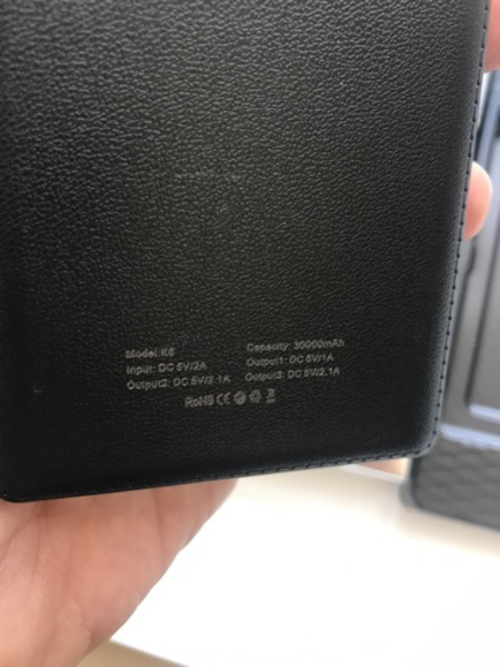 Used Genuine SPASS 30000 mAh Powerbank  in Dubai, UAE