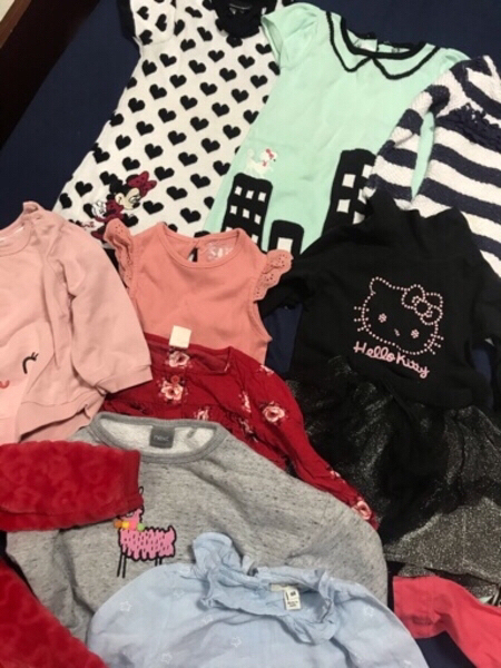 Used Baby girl clothes (100 in Dubai, UAE