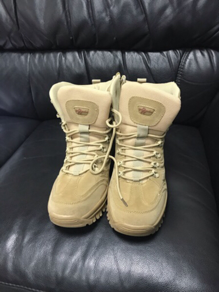 Used Resistant Hiking Ankle Desert Boots-New in Dubai, UAE
