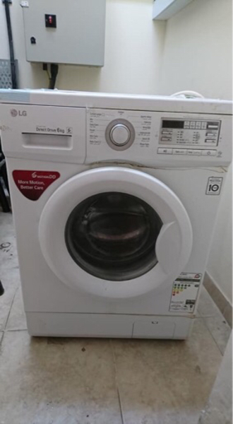Used LG used washing machine in Dubai, UAE