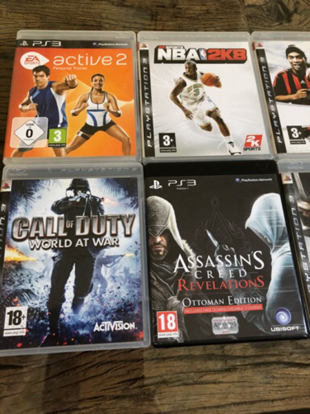 Used PS3 Games x 8 in Dubai, UAE