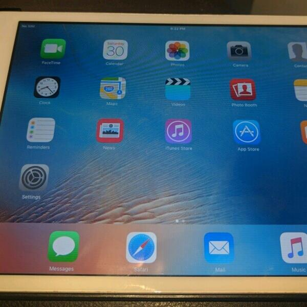 Used Ipad Mini 2 Silver 4G With Case in Dubai, UAE