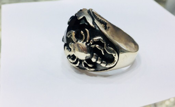 Used Silver for men Ring  in Dubai, UAE