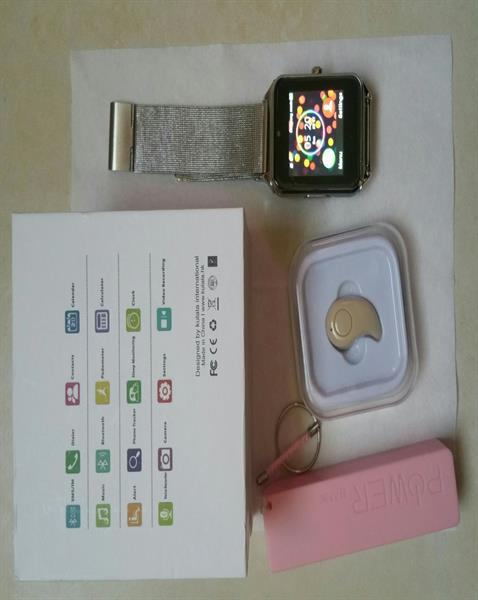 Used KULALA smartwatch Brand New With Simcard And 16GB Sdcard, Powerbank, Bluetooth Earpiece. in Dubai, UAE