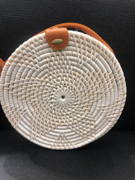 Used Onhand Rattan Bag  in Dubai, UAE