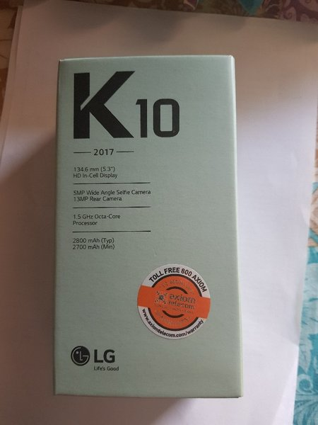 Used LG K10 black ( 2017 ) Model in Dubai, UAE