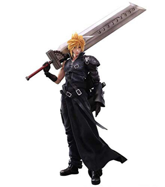 Used Cloud Strife 10inches Action Figure in Dubai, UAE