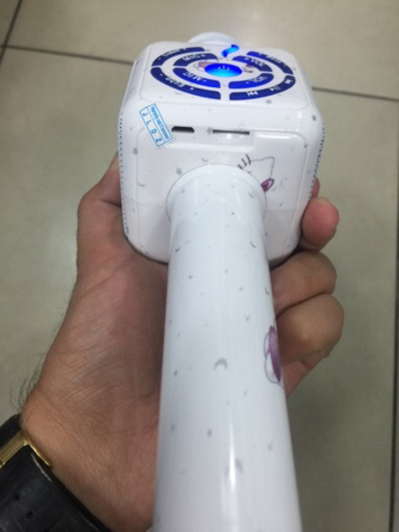 Used Hand karaoke mic with voice changer  in Dubai, UAE
