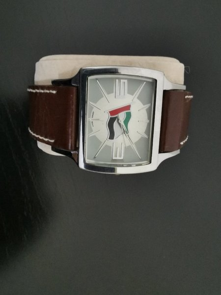 Used UAE flag engraved mens watch in Dubai, UAE