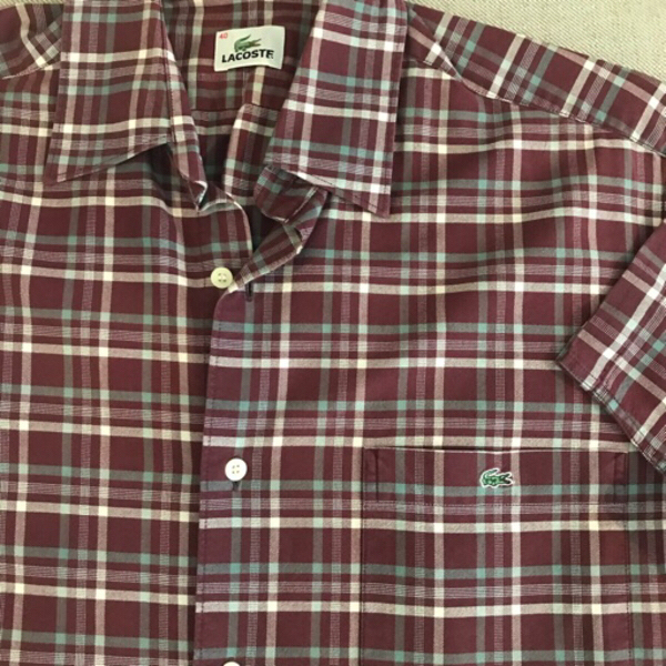Used Lacoste Short Sleeve Shirt in Dubai, UAE