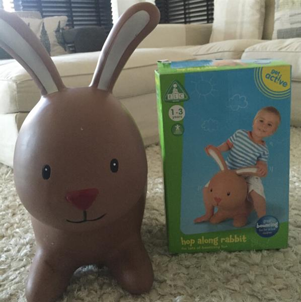 Used Pre-Loved ELC HOP Along Rubber Rubbit. Price Includes Delivery To Your Door. in Dubai, UAE
