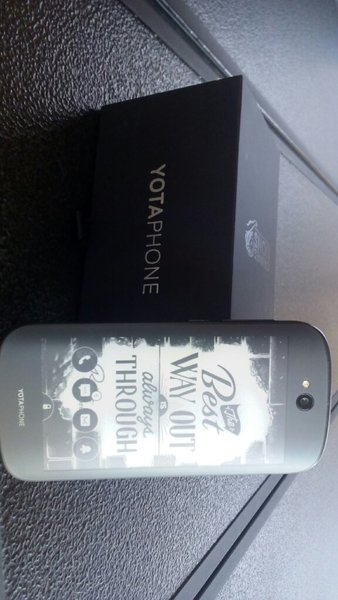 Used Yotaphone 2. Double screen mobile. in Dubai, UAE