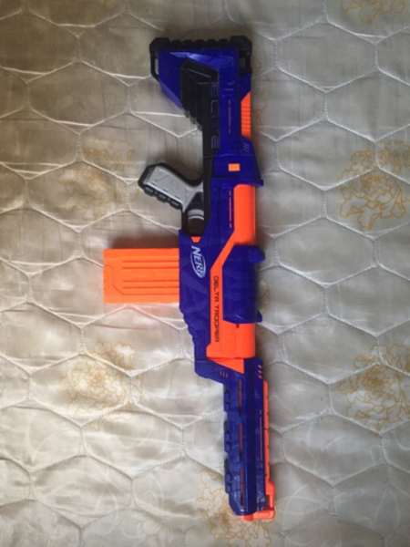 Used Nerf Elite Delta Trooper Gun in Dubai, UAE