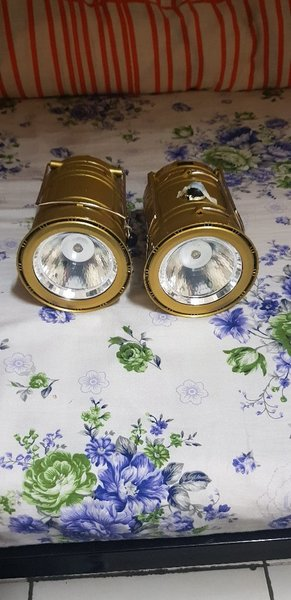Lantern 2 Pcs Golden Multi function