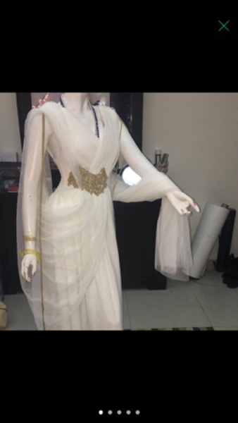 Used Belle and Chic Collection Ivory Dress  in Dubai, UAE