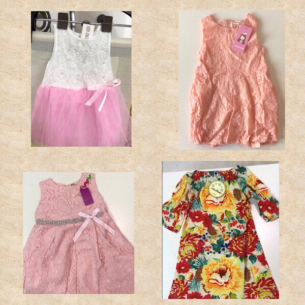 Used Little Girl Cutie Dresses / 90/2-3mos in Dubai, UAE