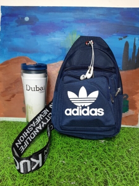 Used Adidas Chest Bag Full Blue in Dubai, UAE