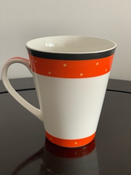 Used New 6 Pcs Orange Coffee/Milk Mugs in Dubai, UAE