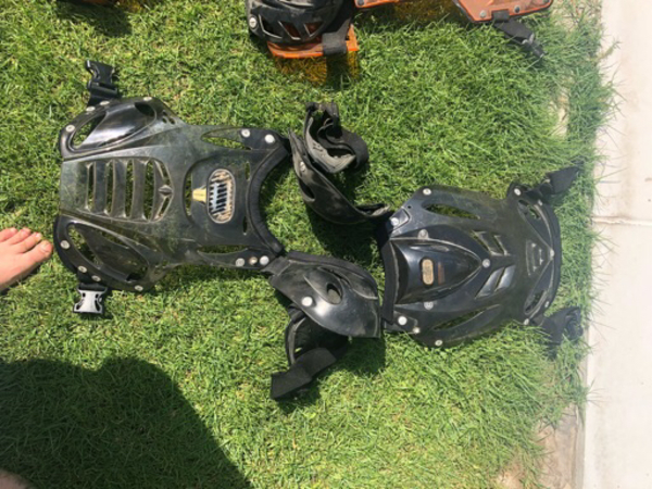 Used Motor cycle safety equipment for adult  in Dubai, UAE