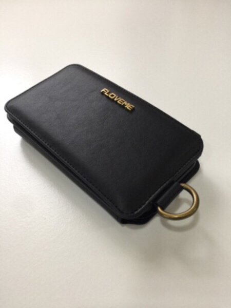 Used Black phone case/ Wallet new in Dubai, UAE