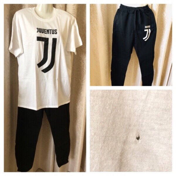 Used T-shirt with pants size L read‼️ in Dubai, UAE