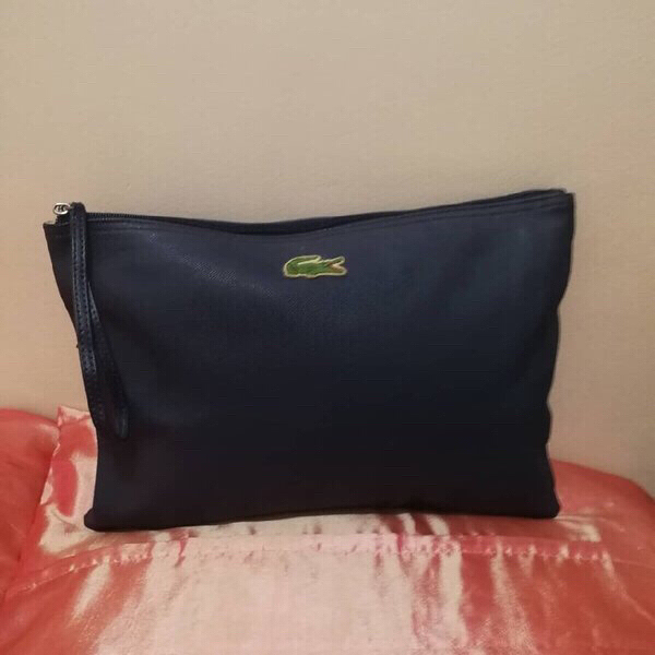 Used AUTHENTIC LACOSTE POUCH, UNISEX,.. in Dubai, UAE
