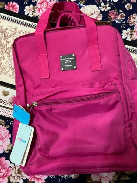 Used FIRST STEP BABY BAG WITH DIAPER MAT in Dubai, UAE