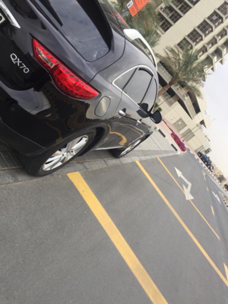 Used Infinity 2018 black from Dubai showroom in Dubai, UAE