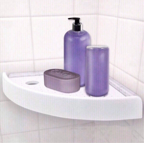 Used Toilet Snap up Corner Shelf NEW in Dubai, UAE