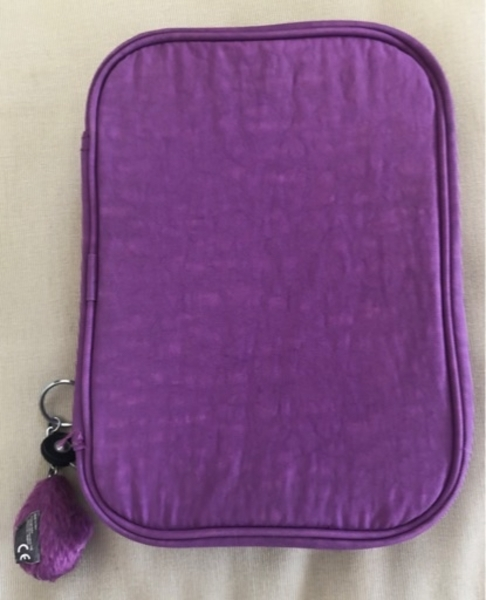 Used Kipling purple large pencil case in Dubai, UAE