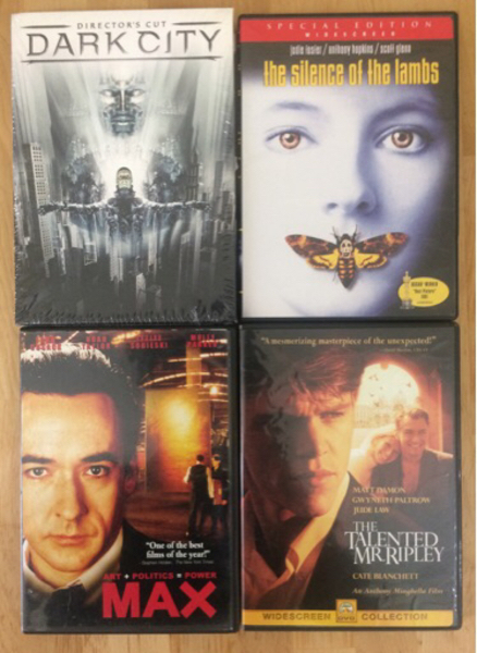 Used 8xDVD Collection: Horror/Thriller/Crime in Dubai, UAE
