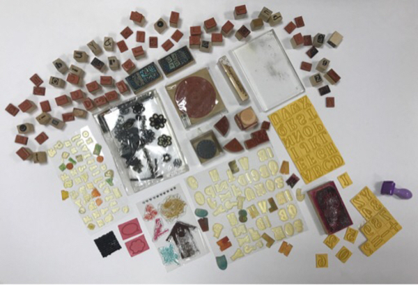 Used Collection of Different Stamps in Dubai, UAE