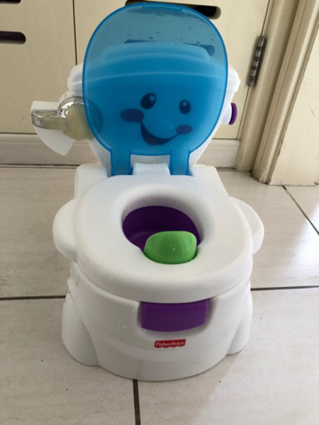 Used Potty Trainer from Fisher Price in Dubai, UAE