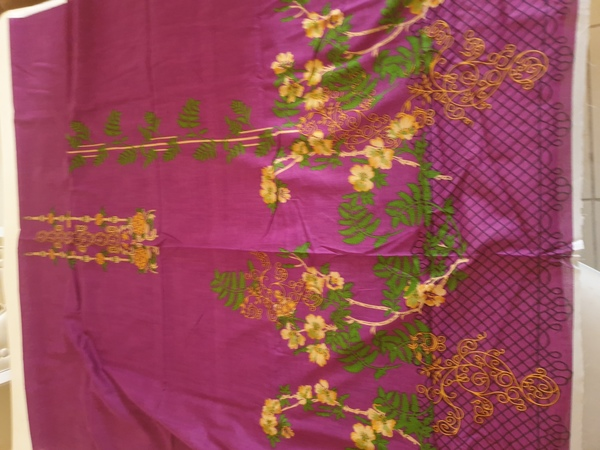 Used Branded lawn unstitched suit 3pc in Dubai, UAE