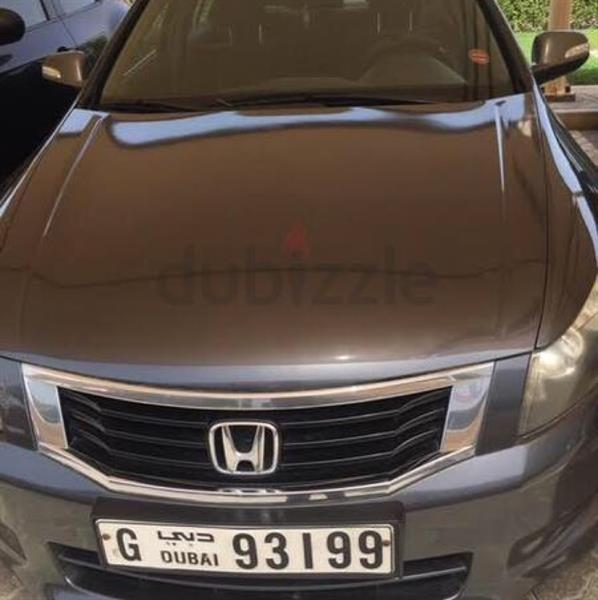 Used honda accord 2009 basic model for sale in Dubai, UAE