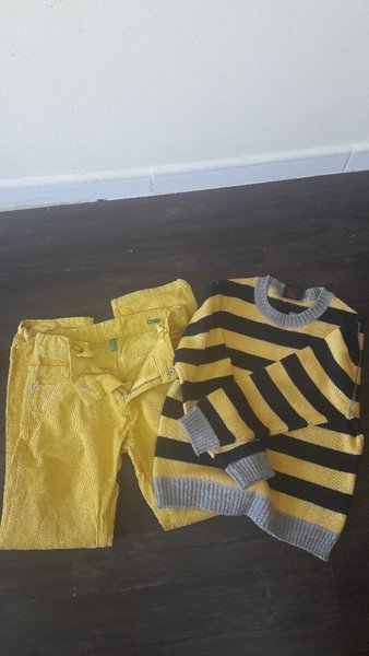 Used Pant and Pullover set for boys in Dubai, UAE