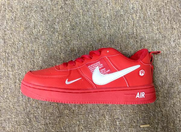 Used New red nike shoes (40-45) class A in Dubai, UAE