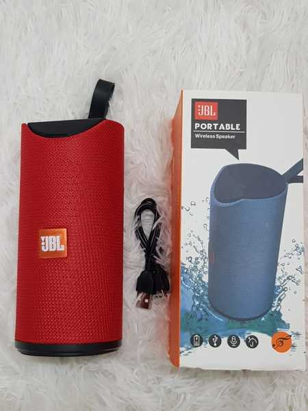 Used Protbale red Bluetooth speakers nw in Dubai, UAE