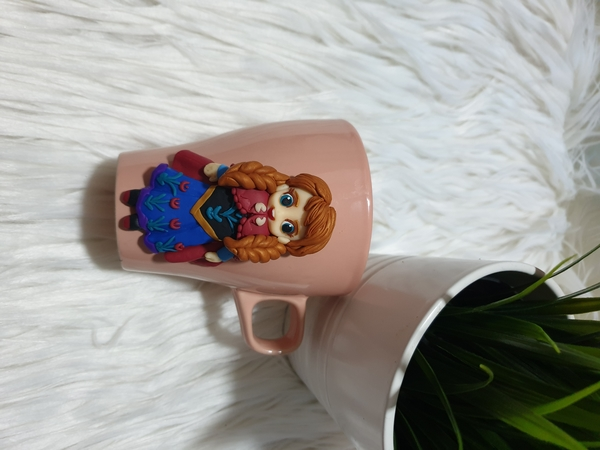 Used Mug decorated with handmade Anna. in Dubai, UAE