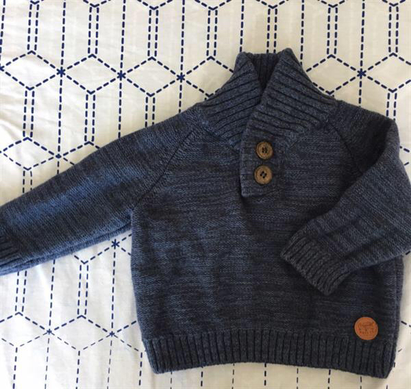 Used Mothercare Baby Boy Sweater-brand New in Dubai, UAE