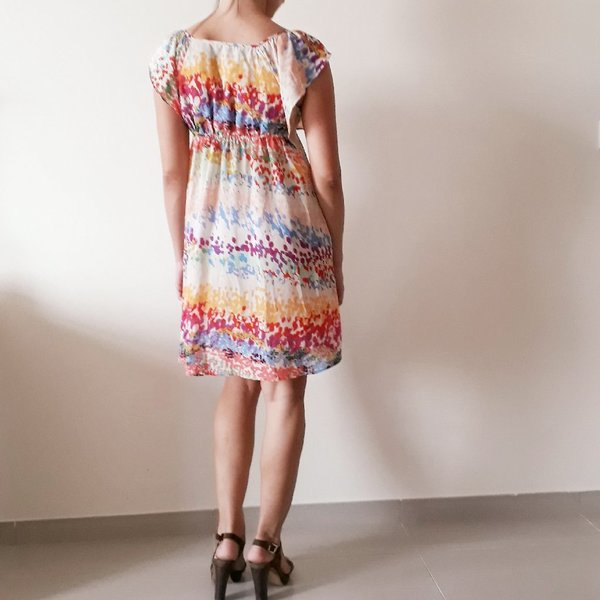 Colorful summer dress  m size