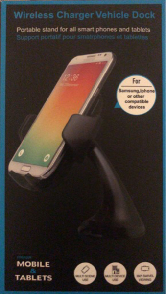 Used Wireless charging phone holder;car mount in Dubai, UAE