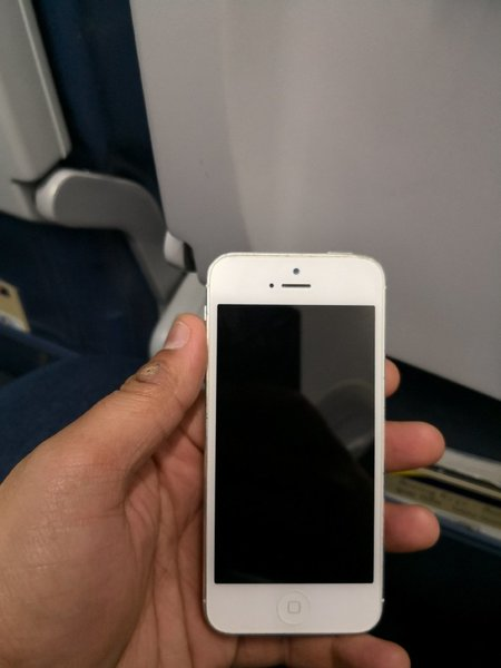 Used iPhone 5 Silver in Dubai, UAE